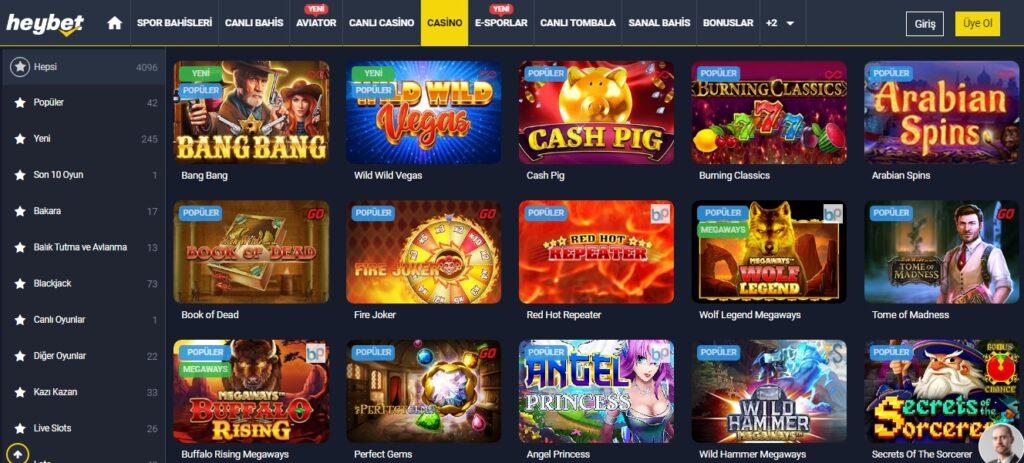 heybet casino